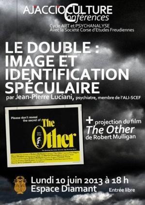 Conférence Art et psychanalyse et projection du film The Other à l'Espace Diamant