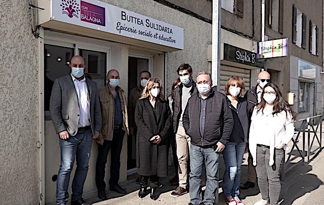 «Buttea sulidaria» l'épicerie sociale et éducative de Lisula est ouverte