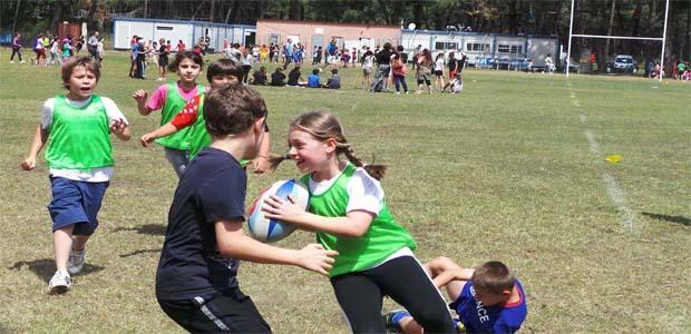 Bastia : Le rugby à l'école primaire