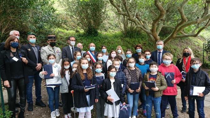 « Dessine-moi un Bleuet » : La classe de CE2/CM1 de l'école élémentaire de Vescovato, lauréate