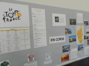 Ajaccio : Le tour de France s'invite Résidence Sainte-Cécile !