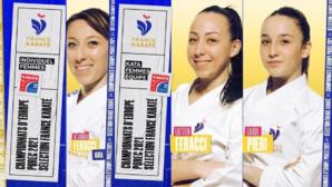 Karaté féminin - Trois Corses aux championnats d'Europe