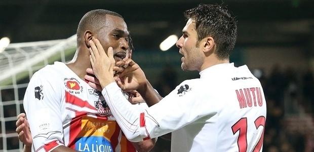Véritable stoppeur-relanceur, et même parfois buteur, comme ici face à Lorient, Ronald Zubar a su s'imposer, et a choisi de continuer sur la bonne voie, avec l'ACA (Ritrattu : Be In sport)