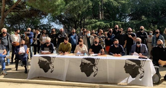 Le mouvement indépendantiste Corsica Libera appelait à l'union des forces nationalistes en vue des prochaines élections territoriales