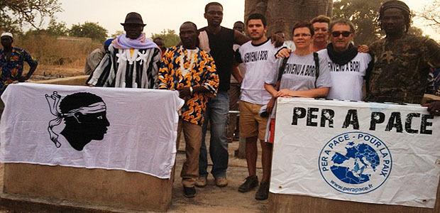 Per a pace lors d'une récente mission au Burkina-Faso