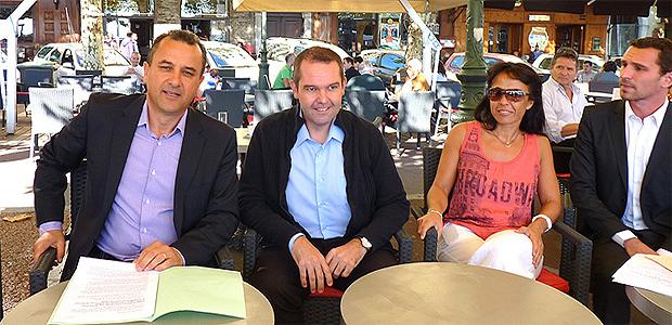 """François Tatti (à gauche) : """"Des propos dérisoires…"""""""