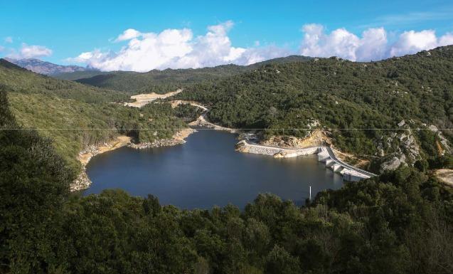 EDF a inauguré le plus puissant barrage de Corse
