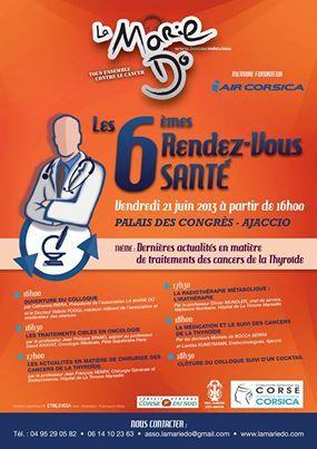 6ème RDV Santé de La Marie-Do le 21 juin au palais des congrès