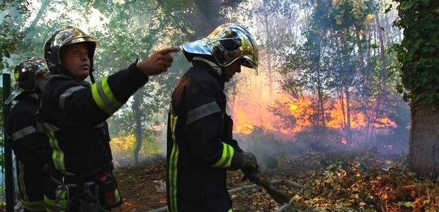 Cette année, l'emploi du feu sera interdit dans toute la Corse à compter du 29 juin 2013. (Photo SDIS-DR)