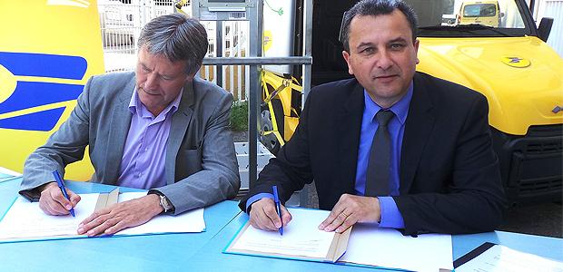 Première nationale en Corse pour la Poste et le Syvadec
