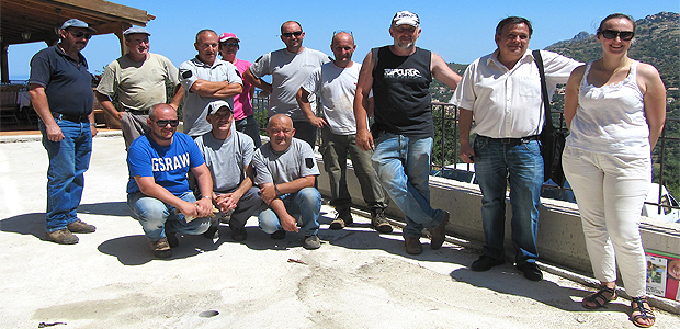 Cateri : Formation à la restauration des murs en pierres sèches