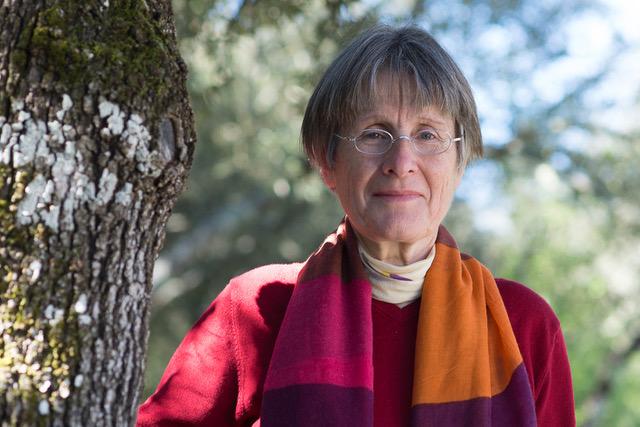 Agnès Simonpietri prend la tête de la liste Ecologia Sulidaria. Elle est d'ailleurs la seule femme tête de liste de ces élections territoriales 2021. Crédits Photo : Jean-Dominique Battini-Davanne
