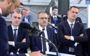 Jean-Christophe Angelini, Jean-Guy Talamoni, Gilles Simeoni. Photo Michel Luccioni.