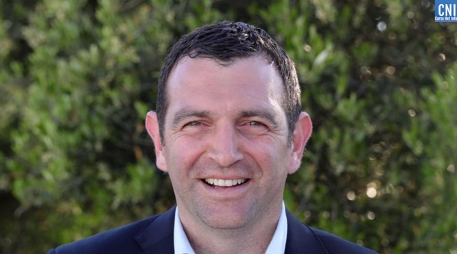 Jean-Charles Orsucci, candidat aux prochaines territoriales, maire de Bonifacio et  président du groupe Andà per dumane à l'Assemblée de Corse