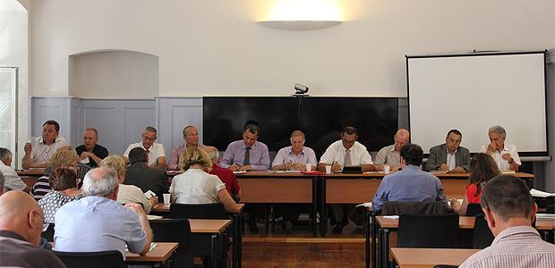 Le comité du Syvadec au travail