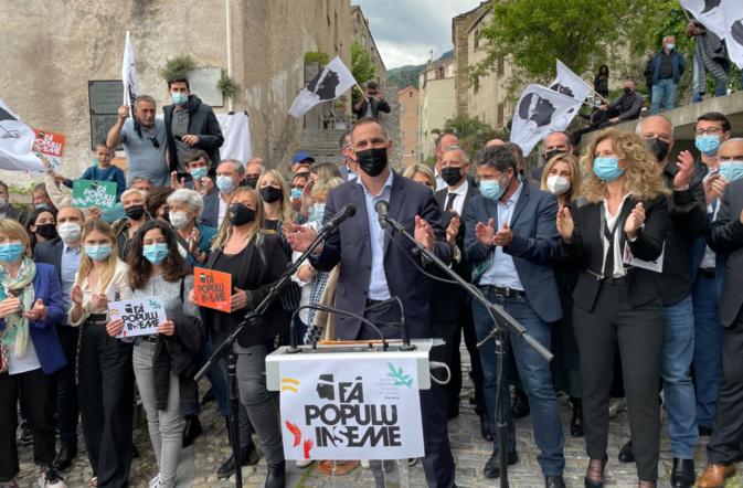 Territoriales : la liste de Gilles Simeoni