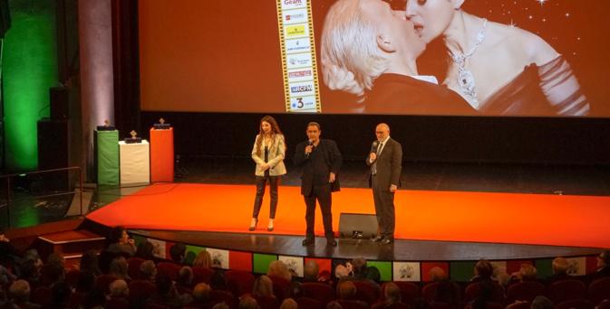 L'équipe du cinéma italien a tenu à faire cette édition en présentiel