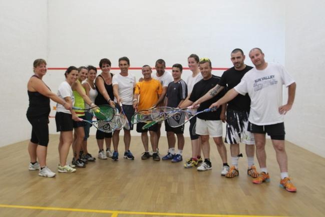C'est parti pour le 17ème open de squash de L'Ile-Rousse