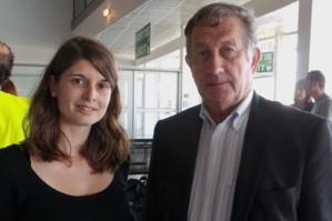 Amandine Blanchard et Paul Trojani