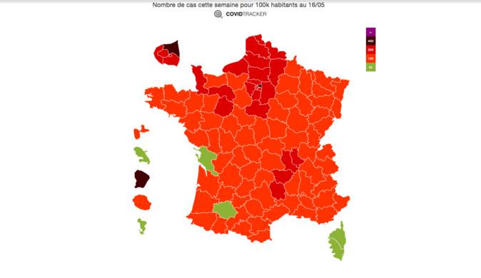 Covid-19 : La Corse est la première région de France à repasser sous le seuil d'alerte