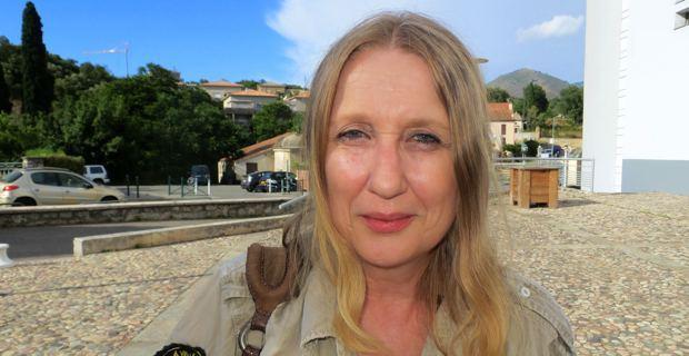 Isabelle Luccioni, journaliste à Corse Matin et membre fondateur du Collectif contre les assassinats et la loi de la jungle.