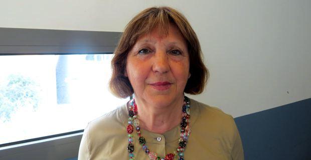 Agathe Albertini, présidente régionale de l'UMIH (Union des métiers de l'industrie hôtelière).