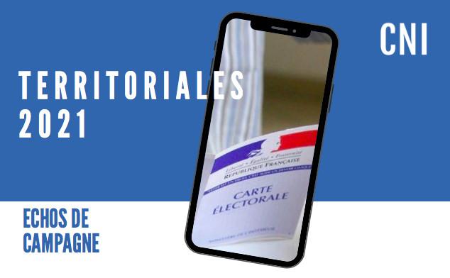 Territoriales : Echos de campagne du 17 mai 2021