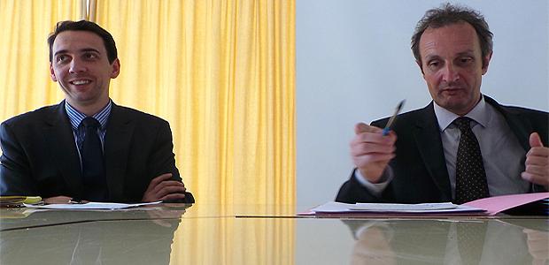 Jérôme Guerreau et Alain Rousseau