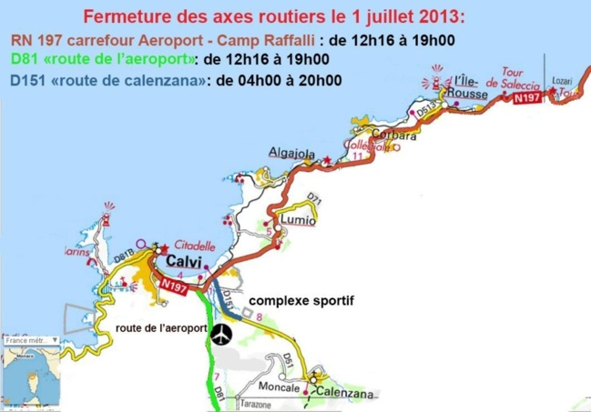 Arrivée du Tour de France à Calvi : Les infos pratiques