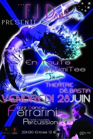 Bastia : Gala du Ferrarini jazz dance