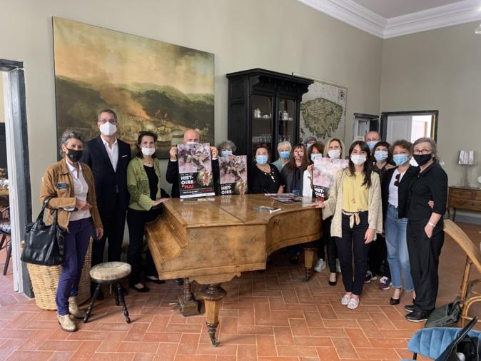 En présence de ses nombreux partenaires, l'association Histoires en Mai a présenté la 16ème édition de son festival à la Casa Reale