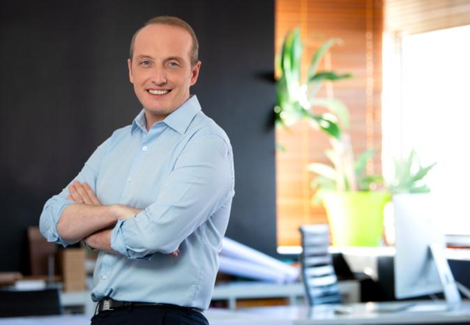 Laurent Marcangeli, maire d'Ajaccio, président de la CAPA et candidat de l'union de la droite aux élections territoriales des 20 et 27 juin.