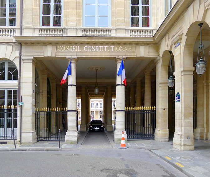 Photo illustration : Le Conseil constitutionnel