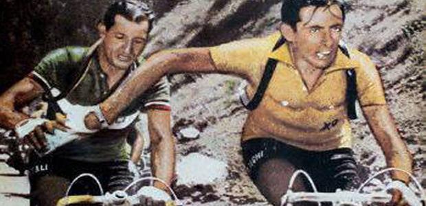 Gino Bartali et Fausto Coppi (Dr)