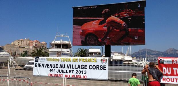"""La """"Der"""" corse du Tour de France à Calvi"""