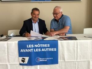 """François Filoni : """"Mes principaux adversaires sont le chômage, la vie chère, la misère et le clientélisme"""""""