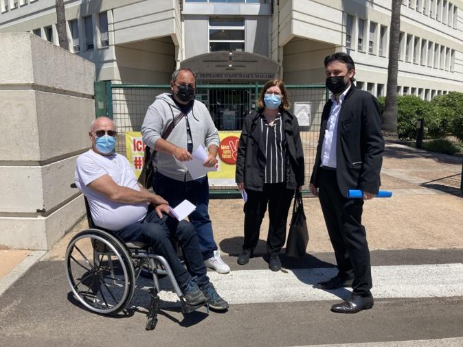 Les membres du bureau de la CPAM de Corse-du-Sud demandent une pérennisation de la prise en charge du second accompagnant pour les enfants malades devant se rendre sur le continent. Photo : Julia Sereni