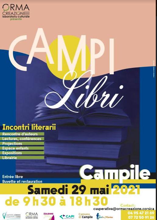 Campile : 19 auteurs attendus pour l'édition 2021 des rencontres littéraires CampiLibri