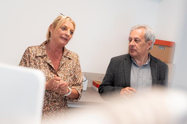 Nathalie Gringelli et Ange Santini (Photos Eyefinity Prod/Kevin Guizol