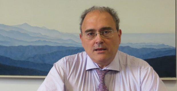Paul Giacobbi, président de l'Exécutif de l'Assemblée de Corse.
