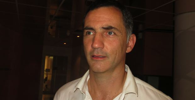 Gilles Simeoni, conseiller territorial, leader du groupe Femu a Corsica.