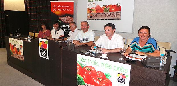 Fruits et légumes de Corse : Très frais, très près !