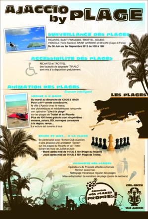 Ajaccio : Pour un bon été à la plage