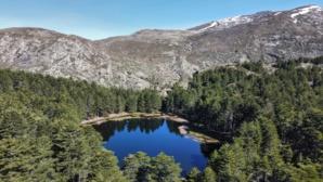 La photo du jour : le lac de Crena vu du ciel