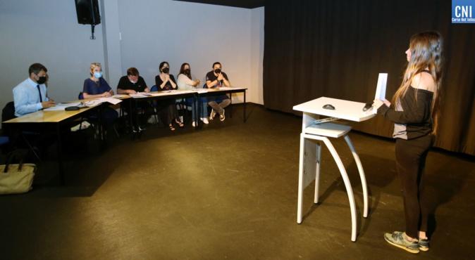 Pas facile pour les jeunes lycéens ajacciens de plaider devant un jury. Photo : Michel Luccioni
