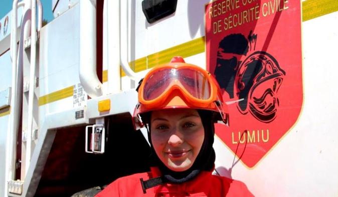 Léanore, 16 ans, intègre la réserve communale de Lumiu