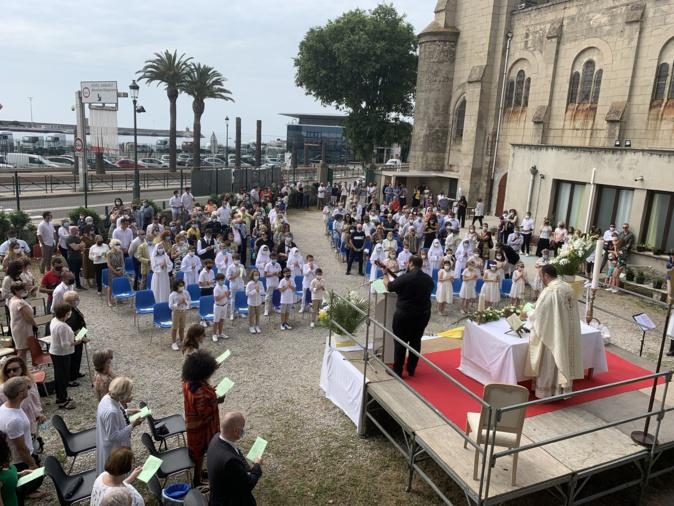 Jour de Communions à Bastia