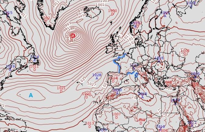 Météo de la semaine en Corse : l'anticyclone des Açores sort du confinement