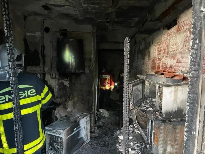 Ajaccio : l'incendie de l'avenue Kennedy aurait pu avoir de graves conséquences