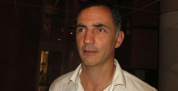 Gilles Simeoni, un des avocats d'Yvan Colonna.